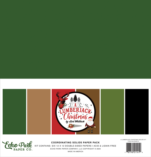 ALC220015 A Lumberjack Christmas Solids Kit
