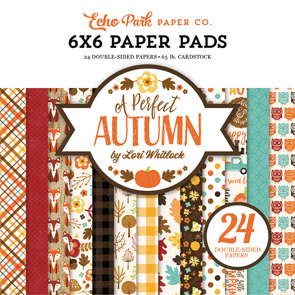 APA132023 A Perfect Autumn Paper Pad Cover