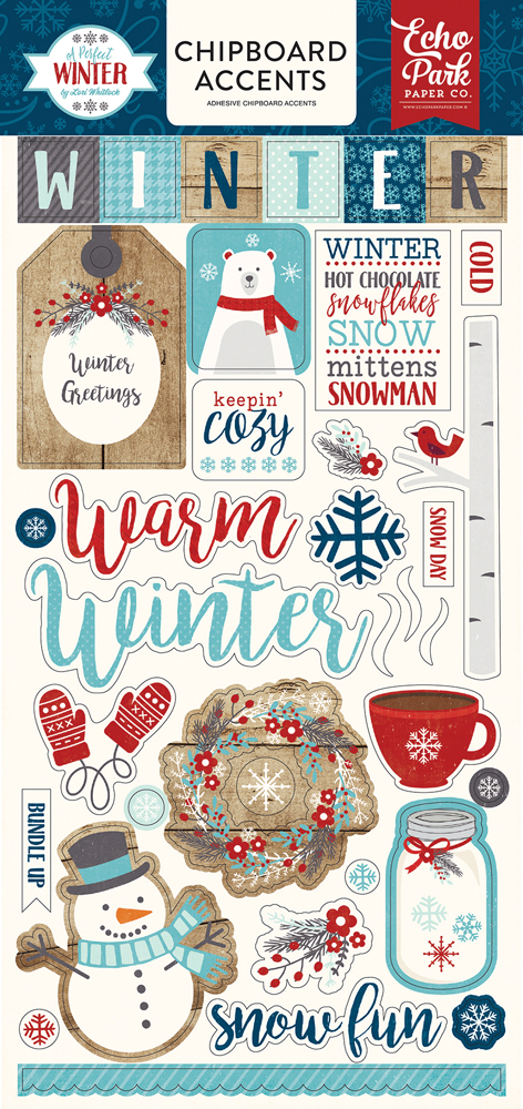 APW136022 A Perfect Winter 6x13 Chipboard