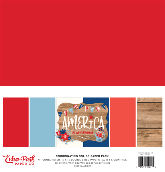 AM213015 America Solids Kit