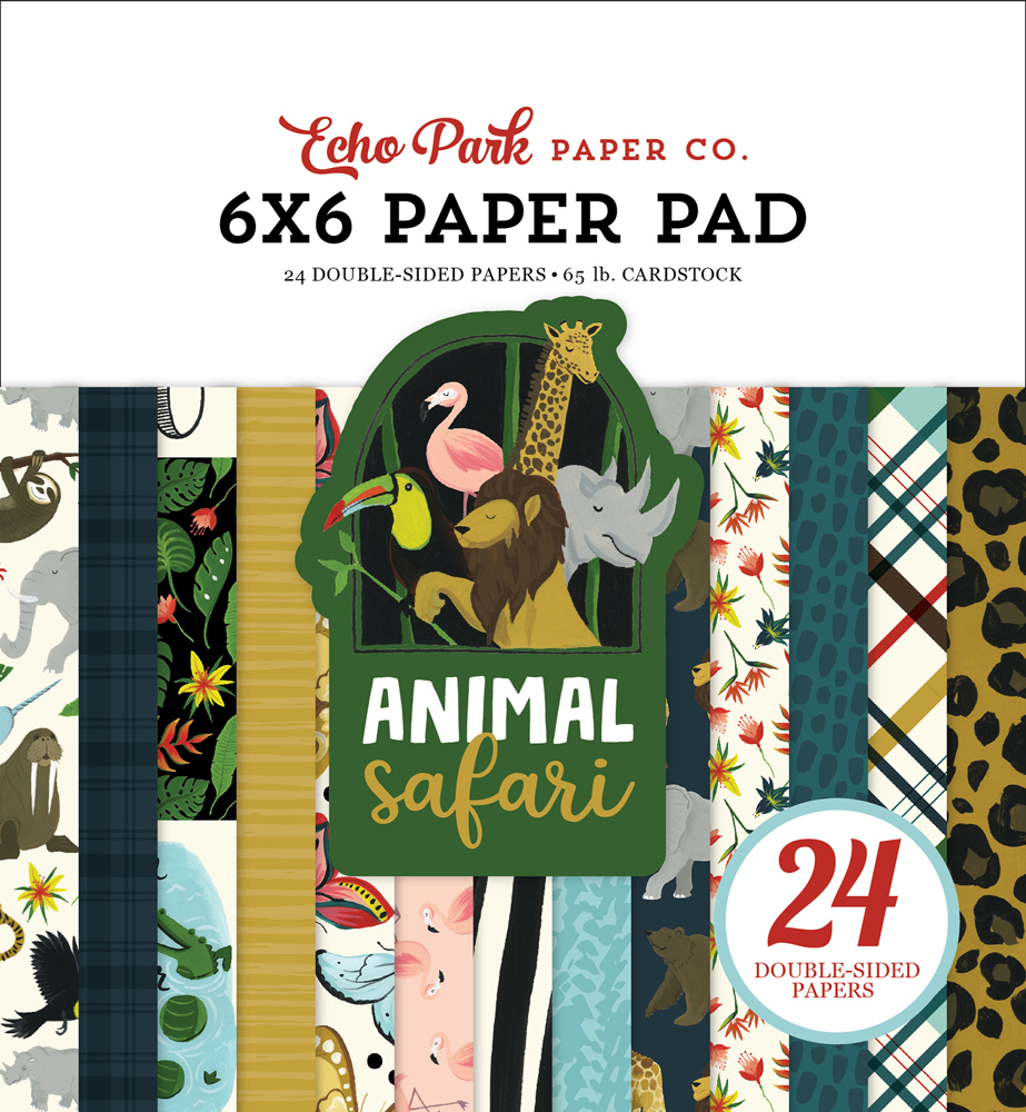 ZOO167023 Zoo 6x6 Paper Pad Cover