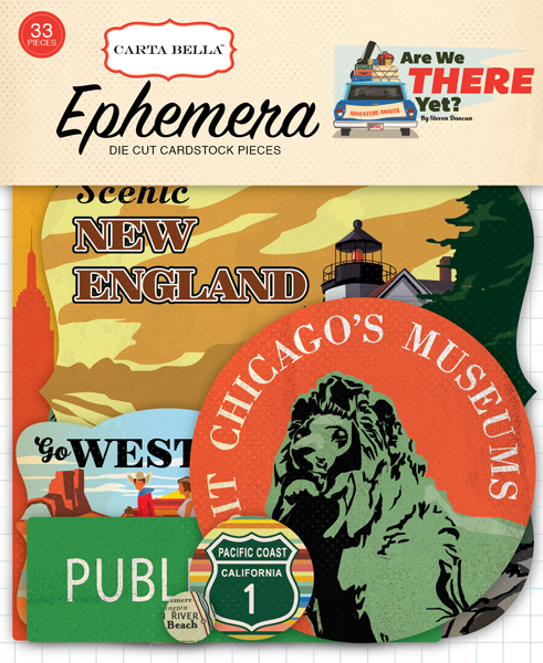 CBAW67024 Are We There Yet Ephemera