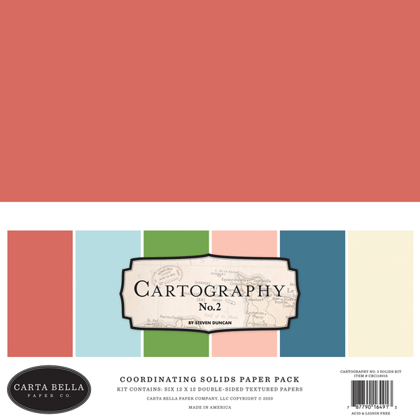 CBC116015 Cartography No. 2 Solids Kit