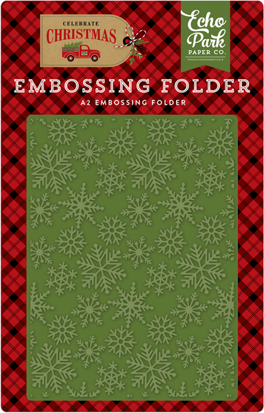 CCH159031 Embossing Folder - Snow Flurry