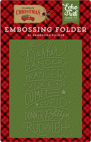 Emboss and Stencils | echo park paper co