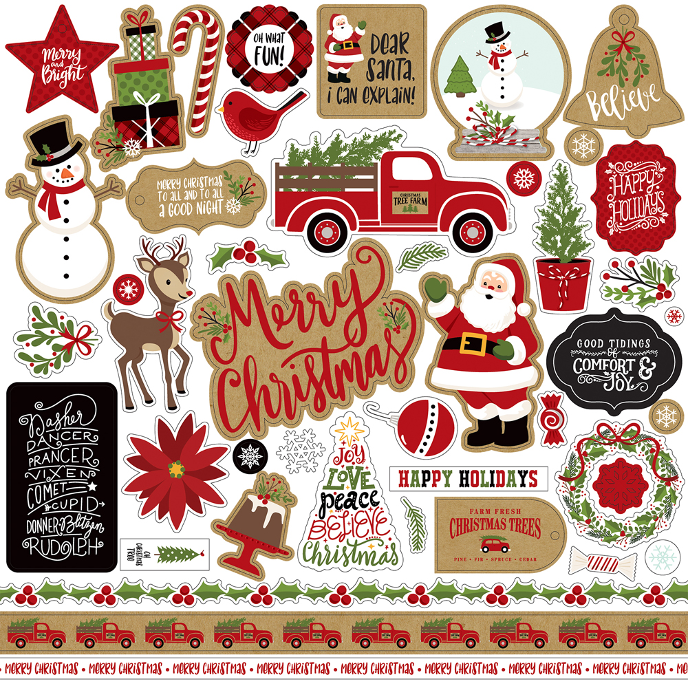 Collections | echo park paper co. | Celebrate Christmas