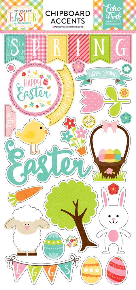 CE121022 Celebrate Easter 6x12 Chipboard
