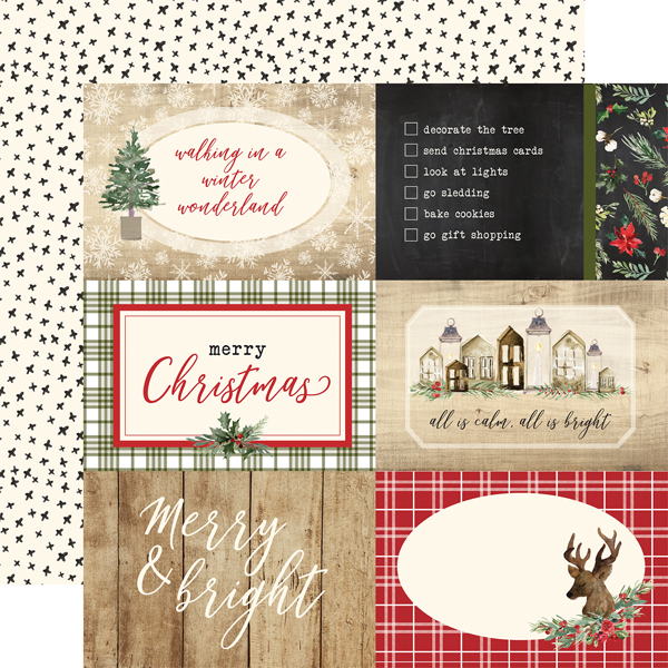 CBCH89010 4x6 Journaling Cards