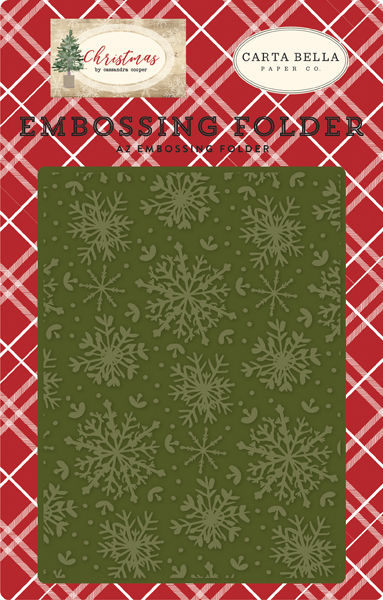 CBCH89031 Jolly Snowflakes Embossing Folder