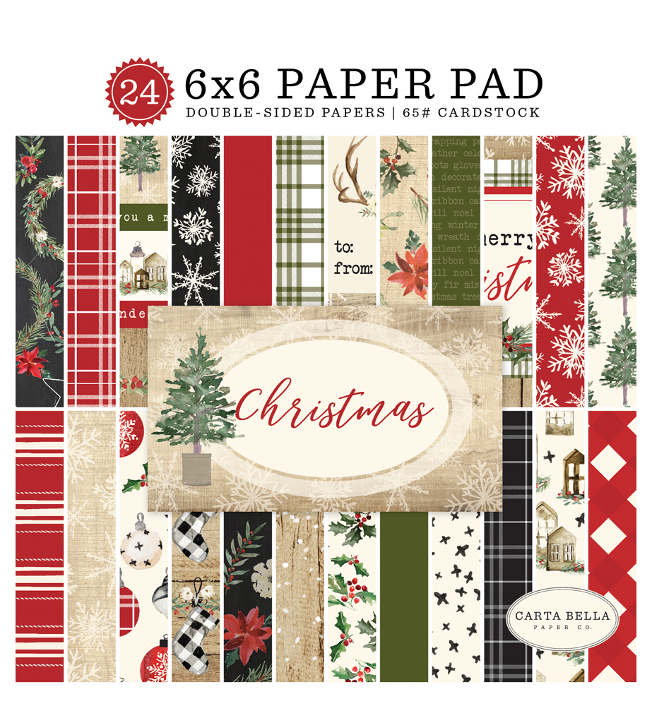 CBCH89023 Christmas Paper Pad