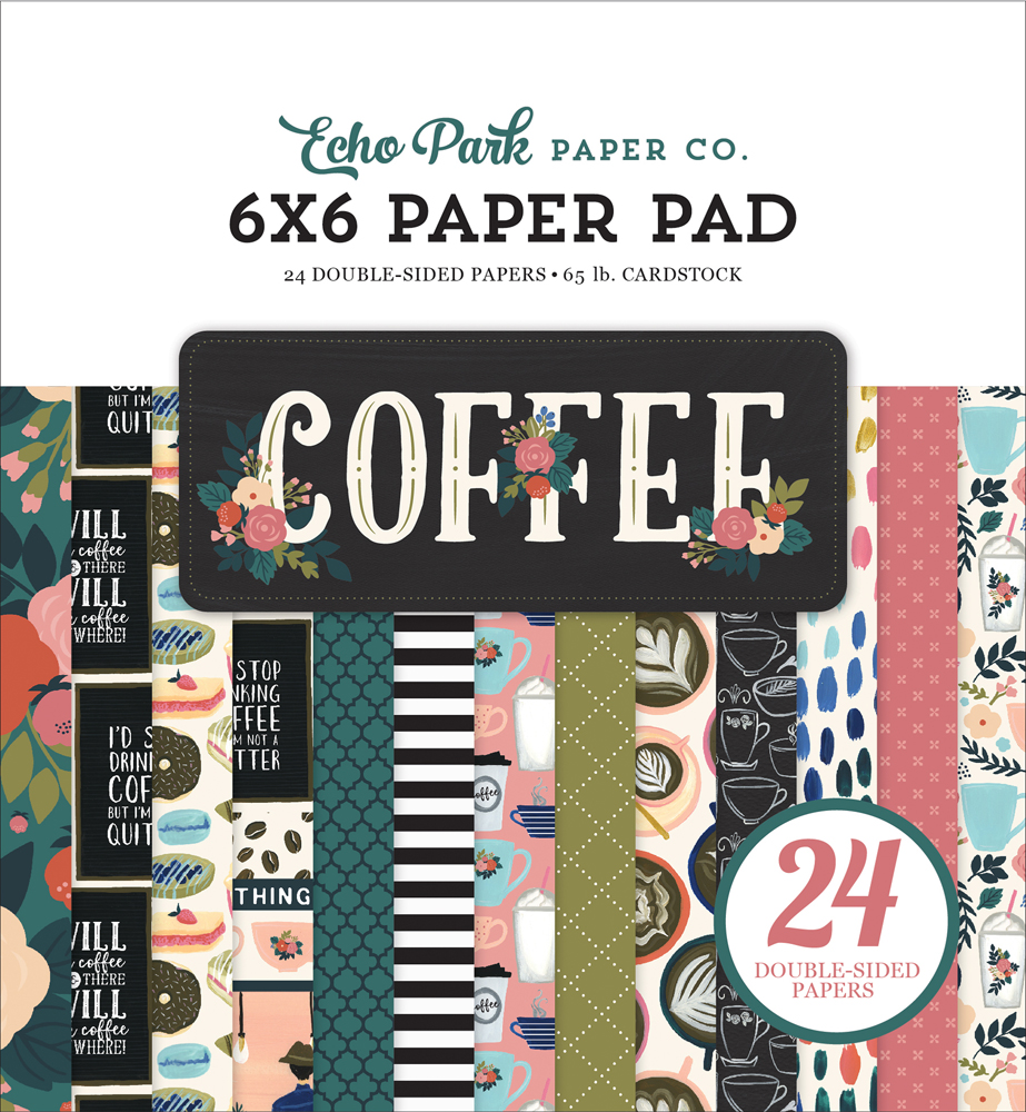 CO164023 Coffee 6x6 Paper Pad