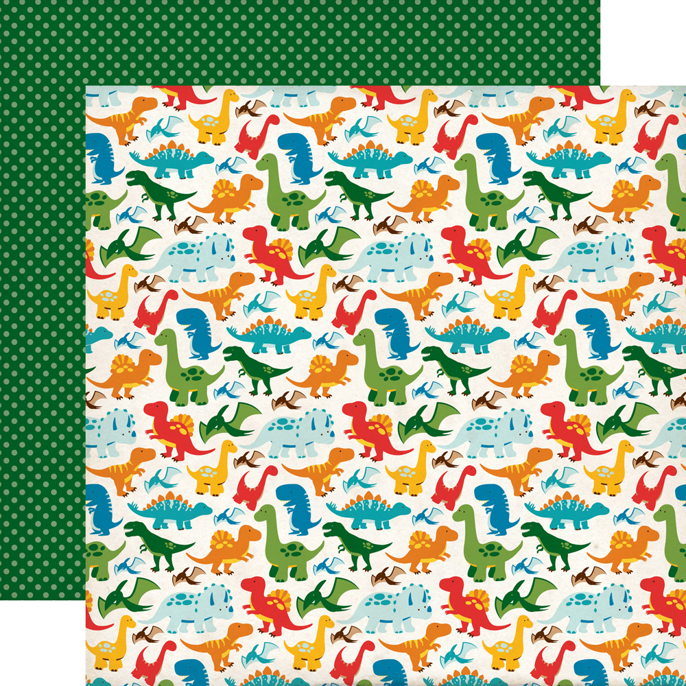 Echo Park Paper Company Embossing Folder Perfect Palm