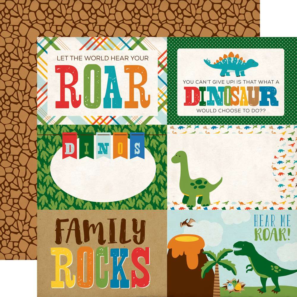 Collections Echo Park Paper Co Dino Friends