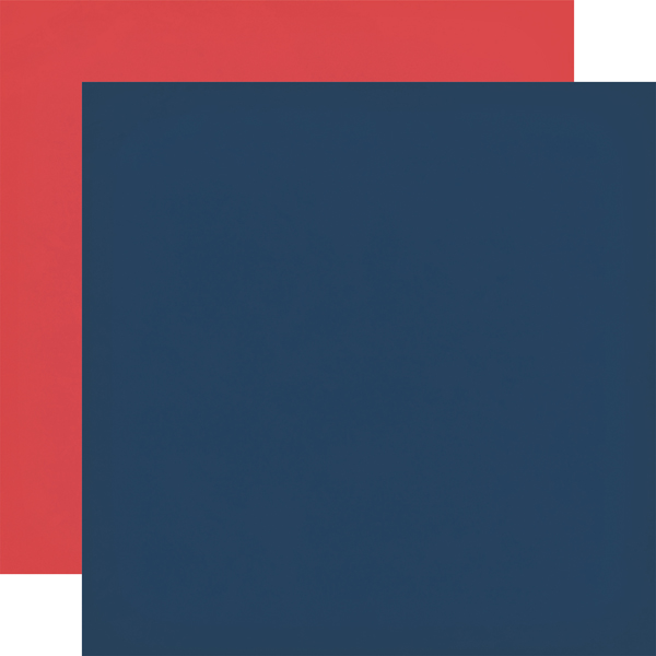 CBDI110019 Navy Red Coordinating Solid