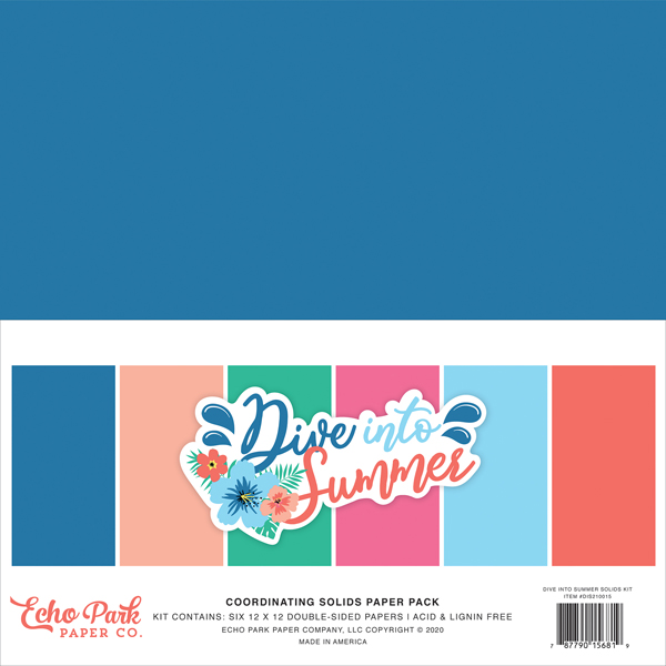 DIS210015 Dive Into Summer Solids Kit