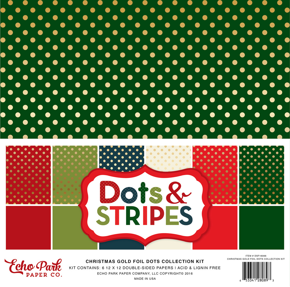 DSF16066 Gold Foil Dot Collection Kit