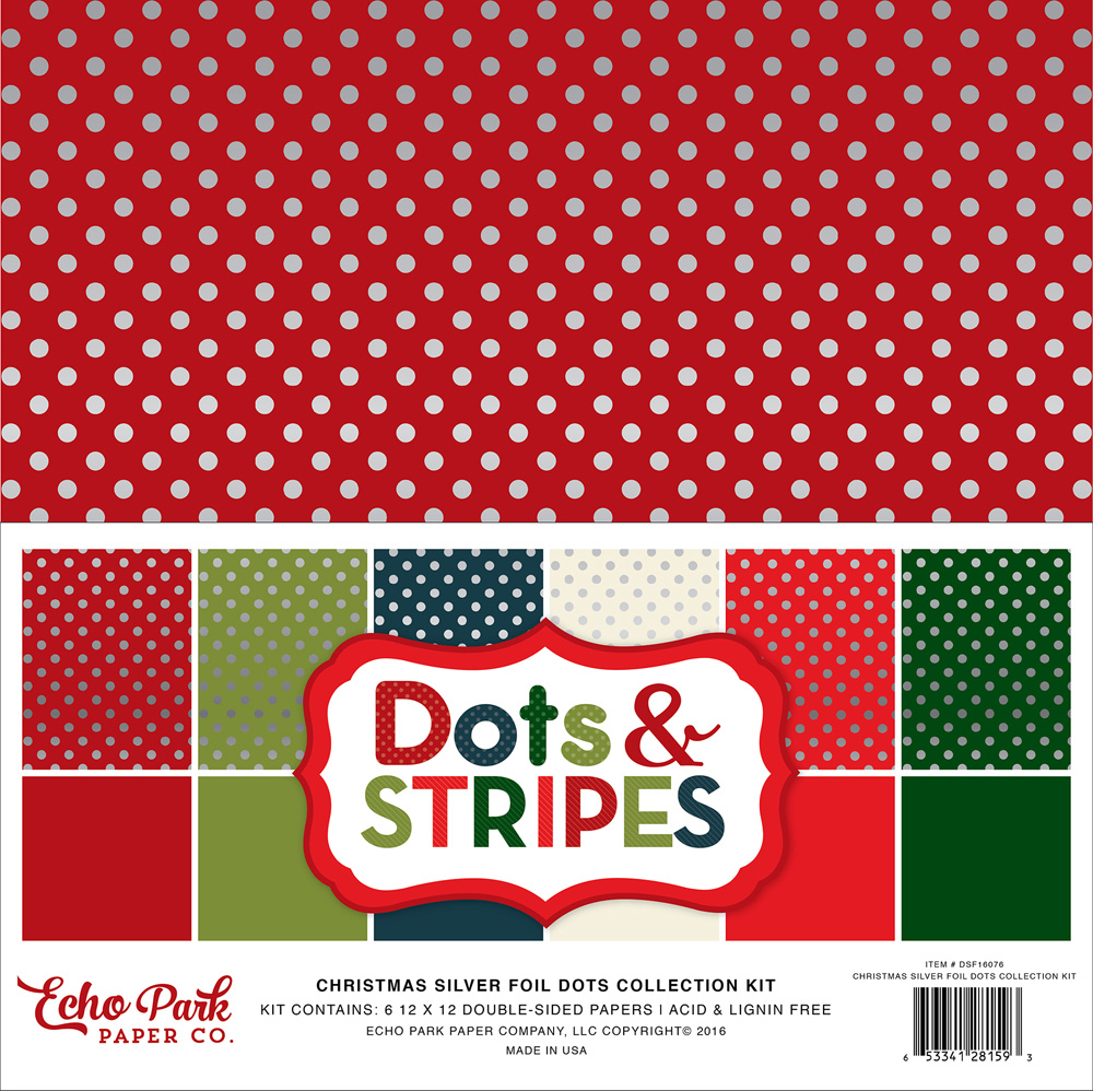 Silver Foil Dot Collection Kit