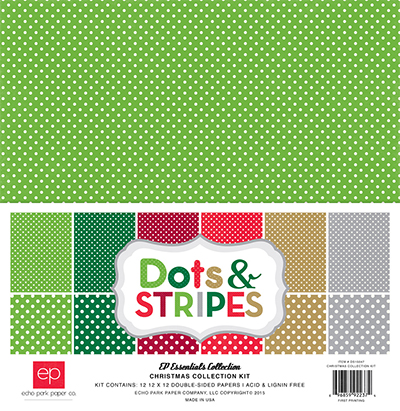 Dots Stripes Christmas