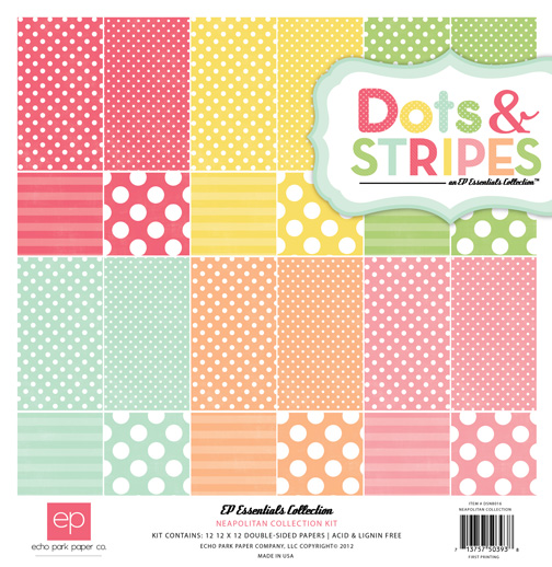 Dots and Strips Neapolitan