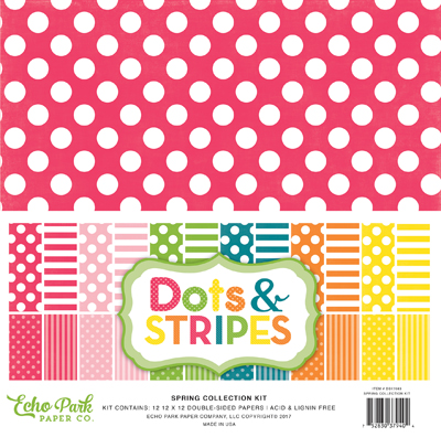 dots stripes spring