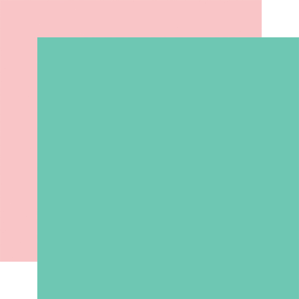 EW174017 Teal Lt. Pink Coordinating Solid