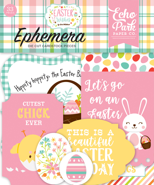 EW174024 Easter Wishes Ephemera