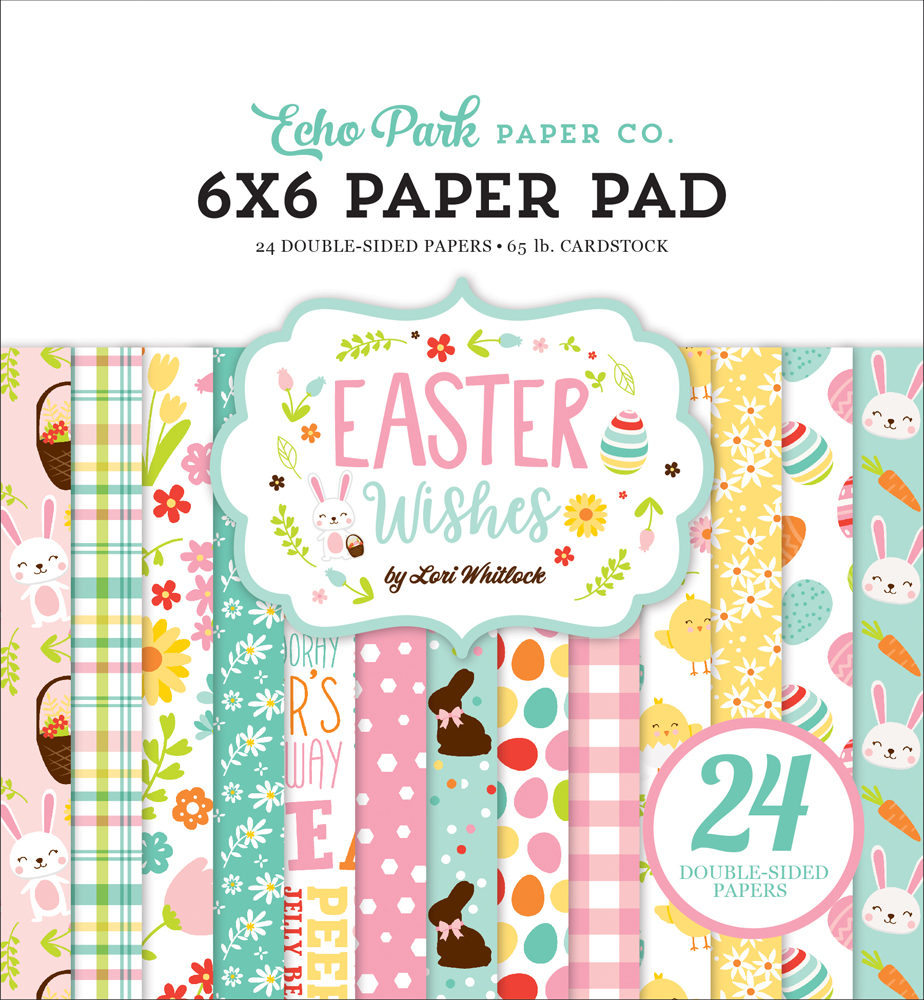 EW174023 Easter Wishes 6x6 Paper Pad Cover