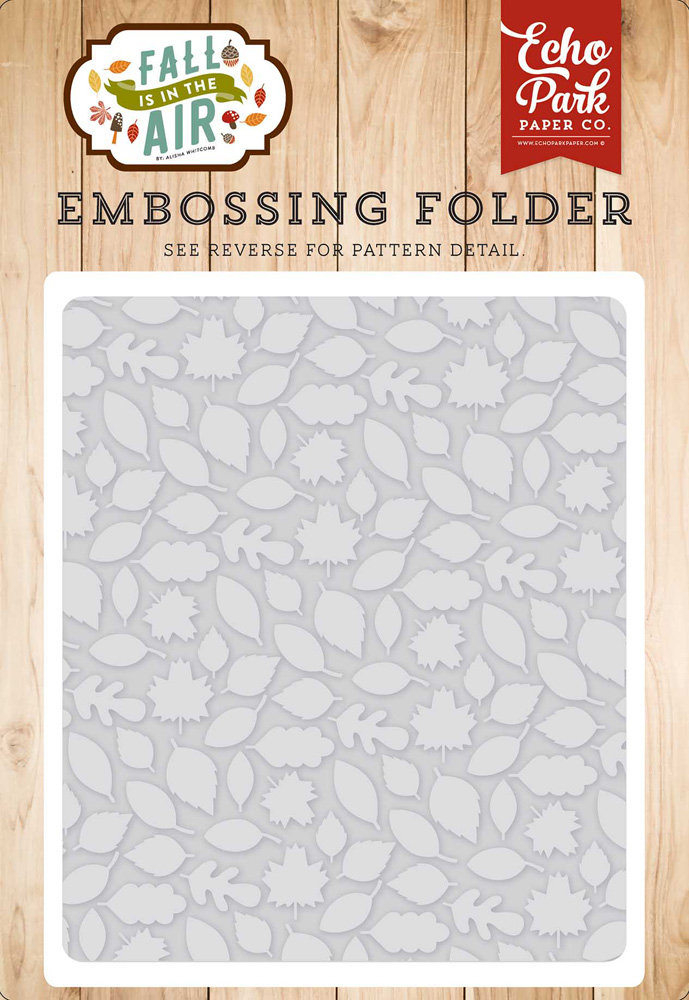 FIA112031 Embossing Leaves