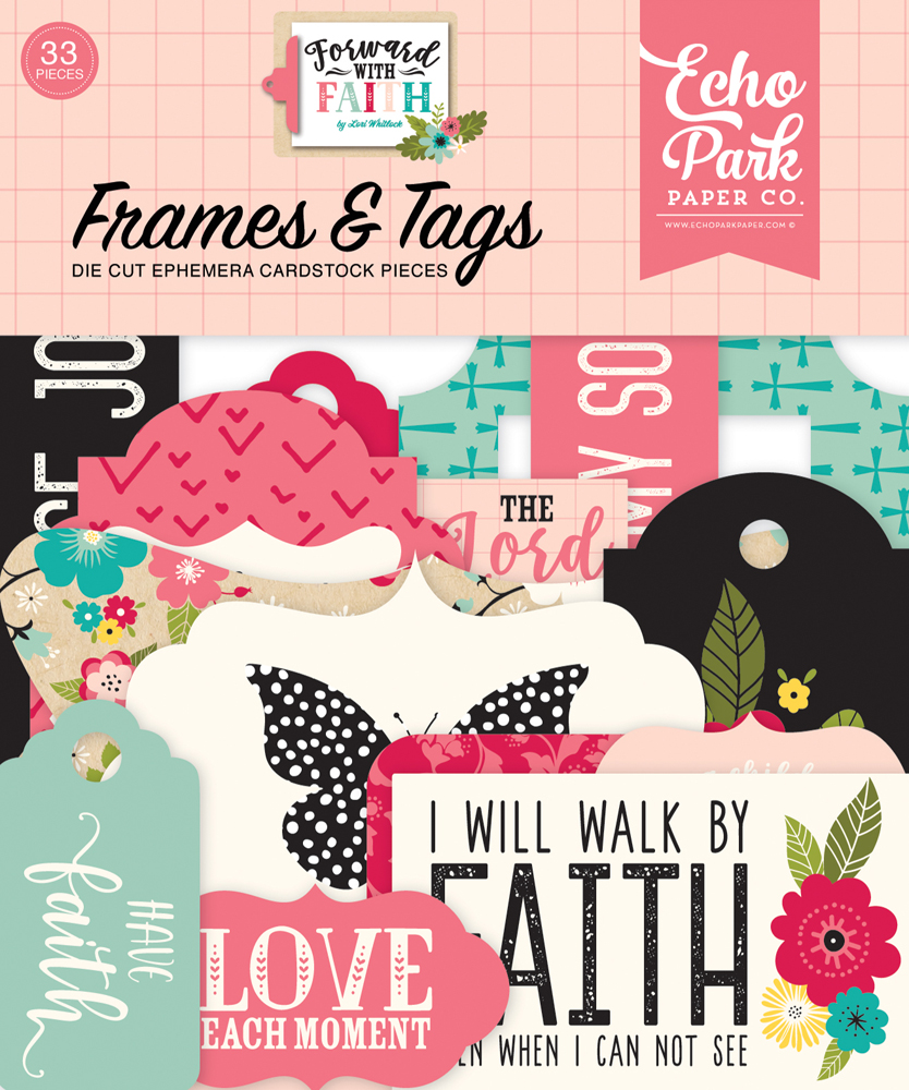 FWF183025 Forward With Faith Frames & Tags