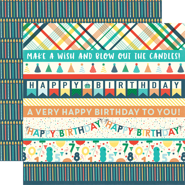 Collections Echo Park Paper Co Happy Birthday Boy