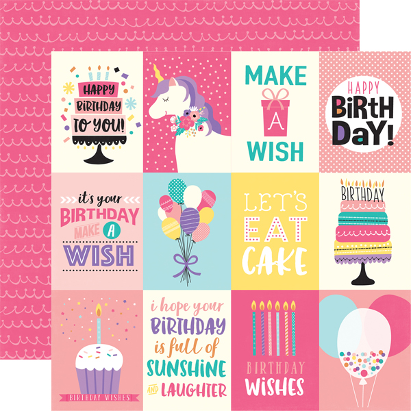 Collections Echo Park Paper Co Happy Birthday Girl