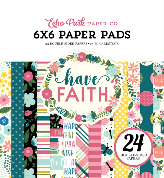 HAF152023 Have Faith Paper Pad Cover