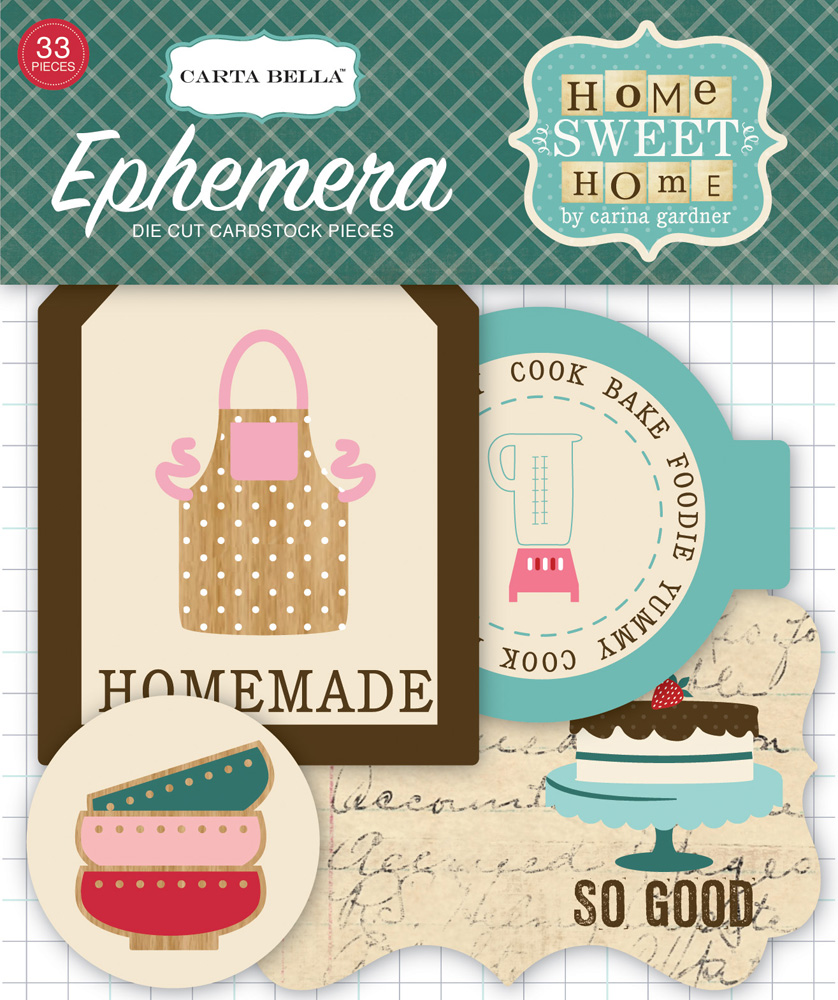 CBHSH47024 Home Sweet Home Ephemera Pack (front)