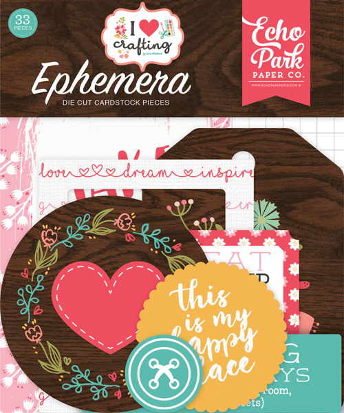 IHC169024 I Heart Crafting Ephemera