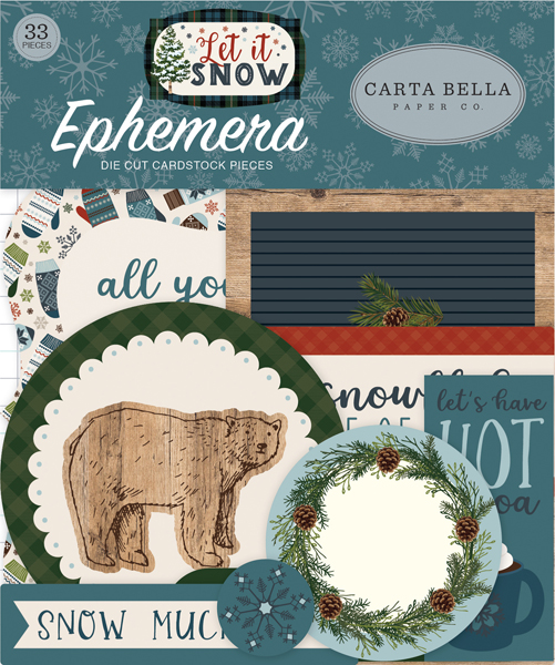 CBIS92024 Let It Snow Ephemera
