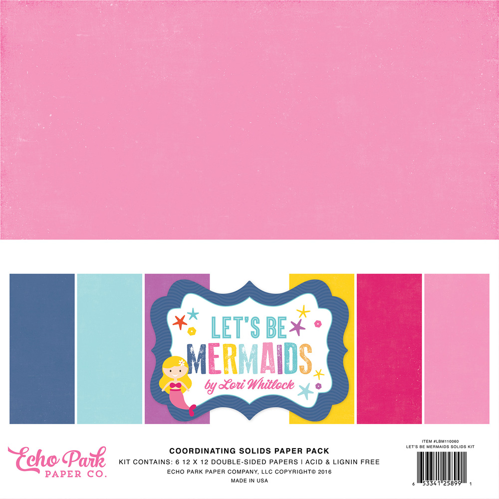LBM110060 Coordinating Solids Paper Pack