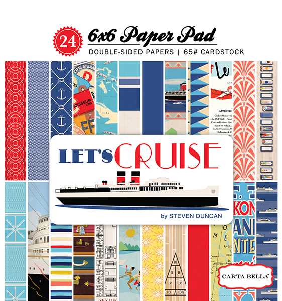 CBLC65015 Lets Cruise 6x6 Paper Pad