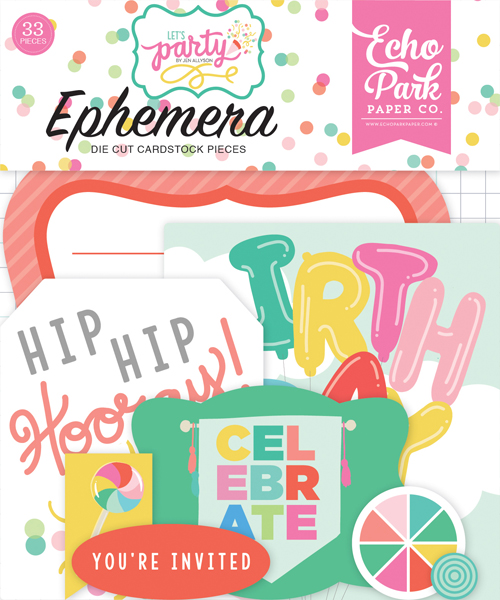 LP170024 Lets Party Ephemera