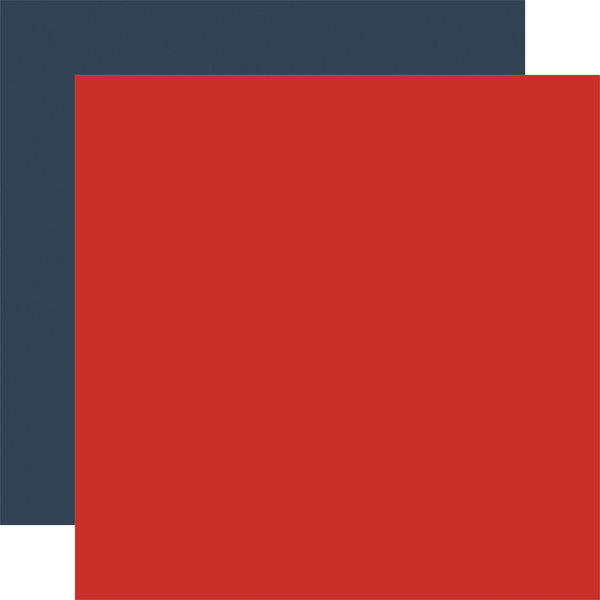 LIN179017 Red Navy Coordinating Solid