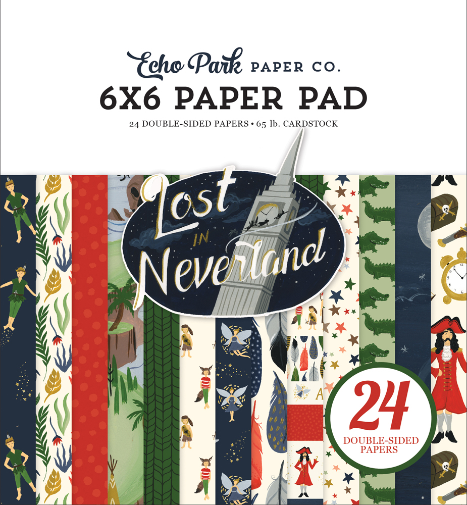 LIN179023 Lost In Neverland Paper Pad Cover
