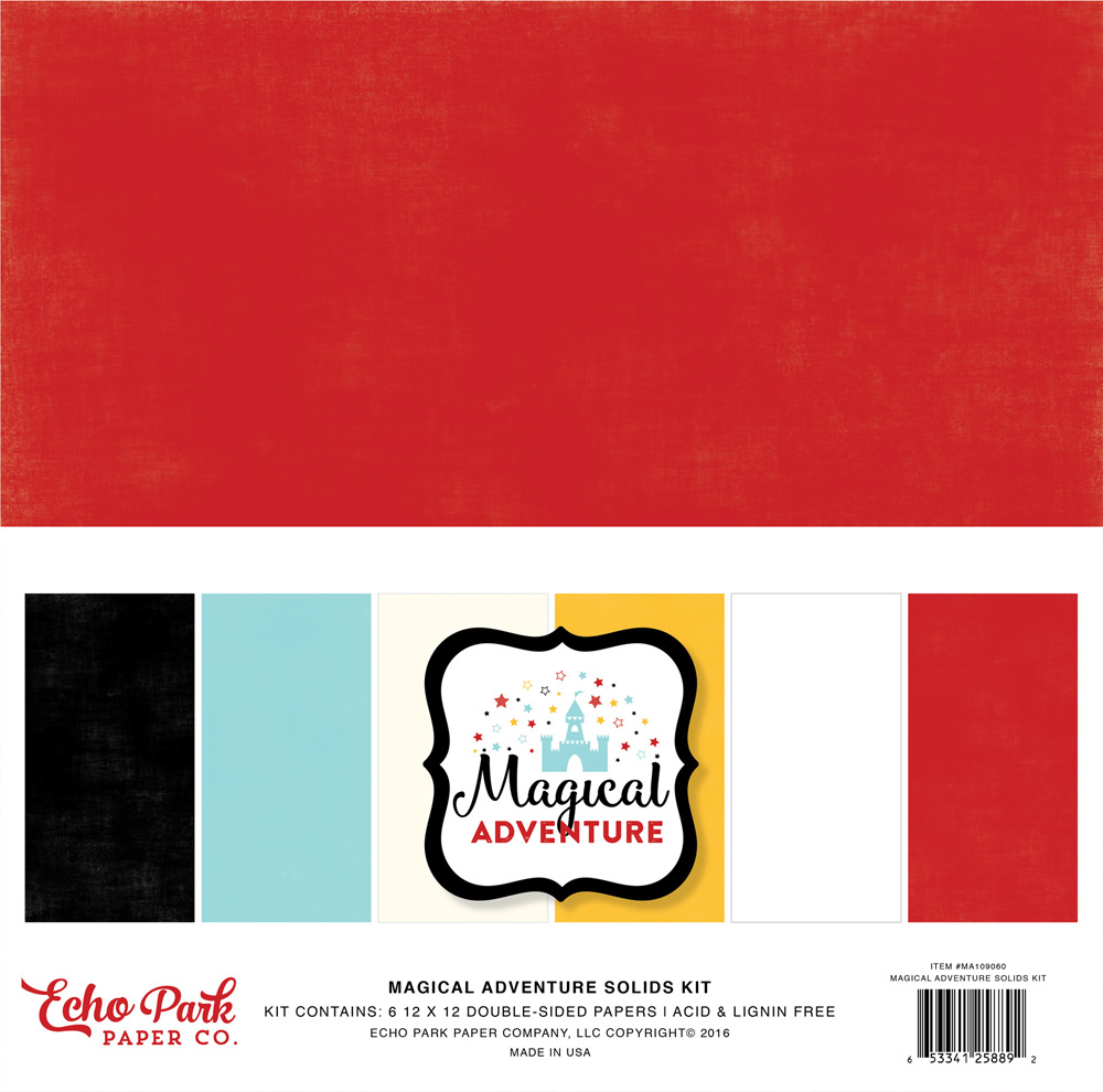 MA109060 Coordinating Solids Paper Pack