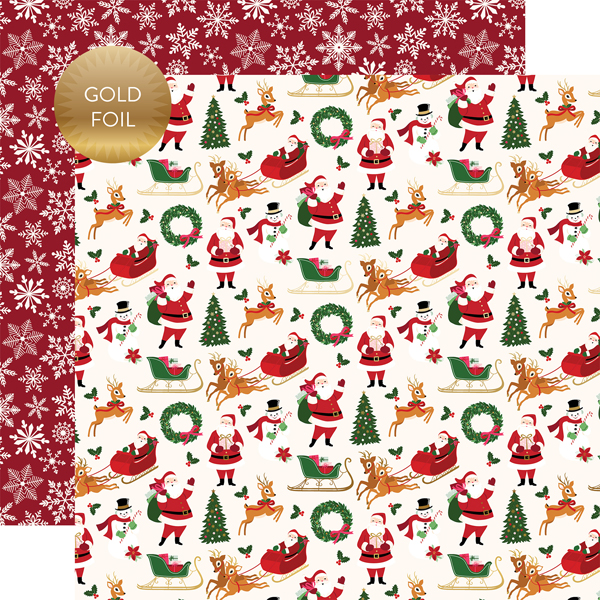 collections echo park paper co merry bright