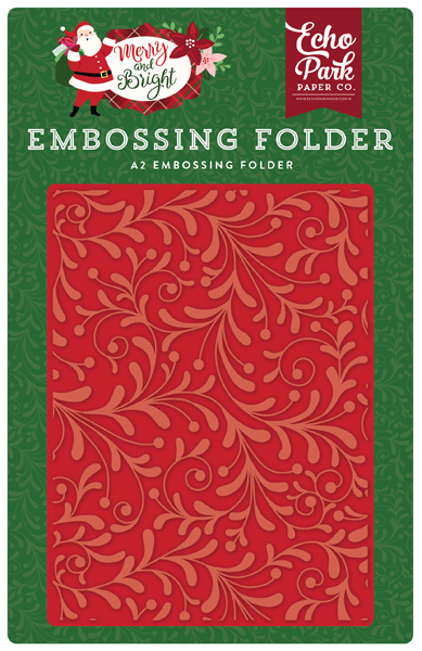 MB160031 Embossing Holiday Flourish
