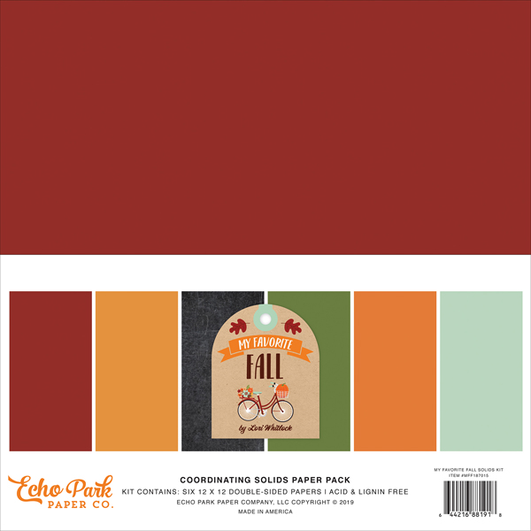 MFF187015 My Favorite Fall Solids Kit
