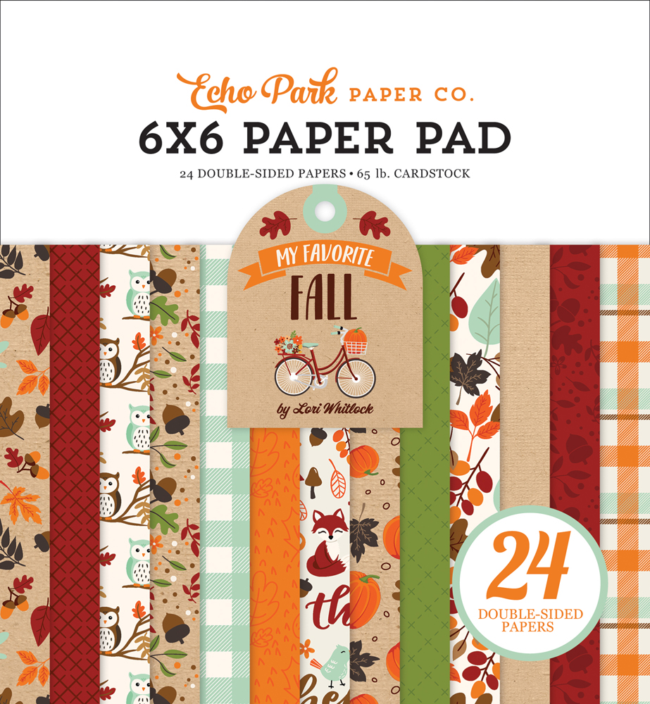 MFF187023 My Favorite Fall 6x6 Paper Pad Cover