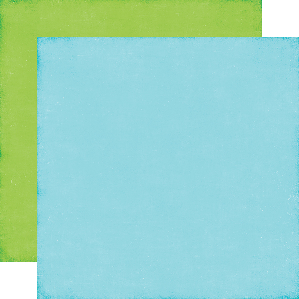 Blue / Green - Coordinating Solid