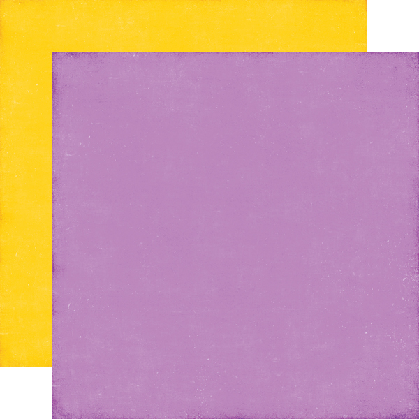 Purple / Yellow<br> Coordinating Solid