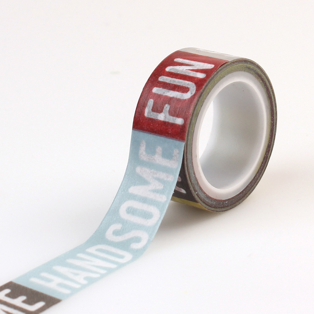 PS104026 Decorative Tape Boy Words