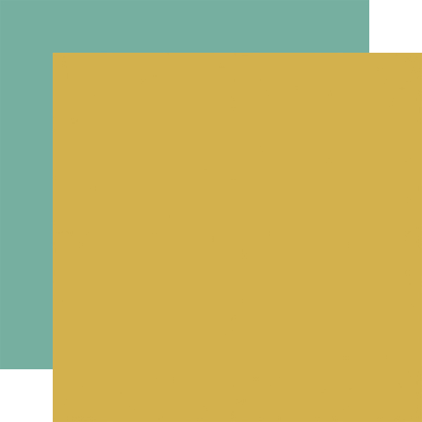 PTA176018 Yellow Teal Coordinating Solid