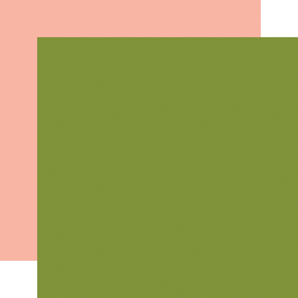 PLA211018 Green Peach Coordinating Solid
